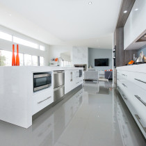 Microwave and Dishwasher alcoves
