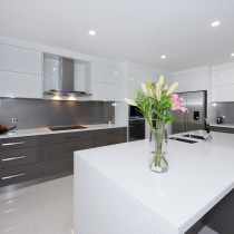 Sleek designed  Kitchen