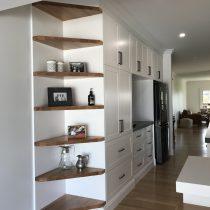 Blackbutt Timber Shelves