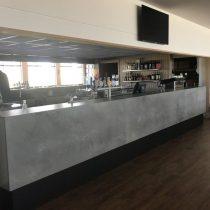 Caesarstone Rugged Concrete bar